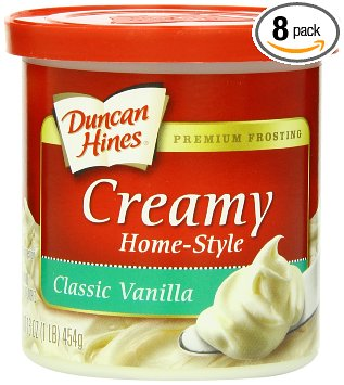 Duncan Hines Creamy Home Style frosting