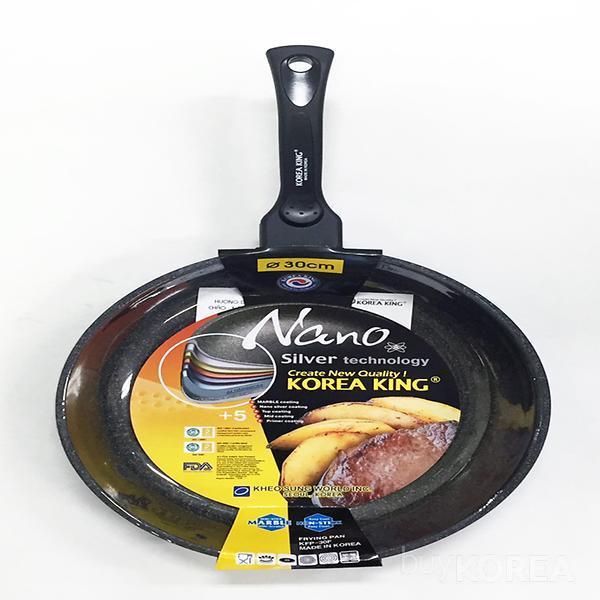 Silver nano & Marble Coating Fry Pan / Deep Pan (wok)