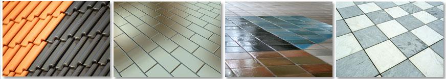 TA2204 Ceramics, Roof Tiles, Unglazed Tiles