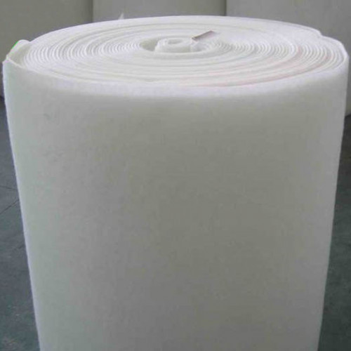 Electrospun nanofibers services on filter paper
