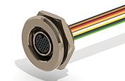 Nano Metal Shell Circular Connectors - Type WC
