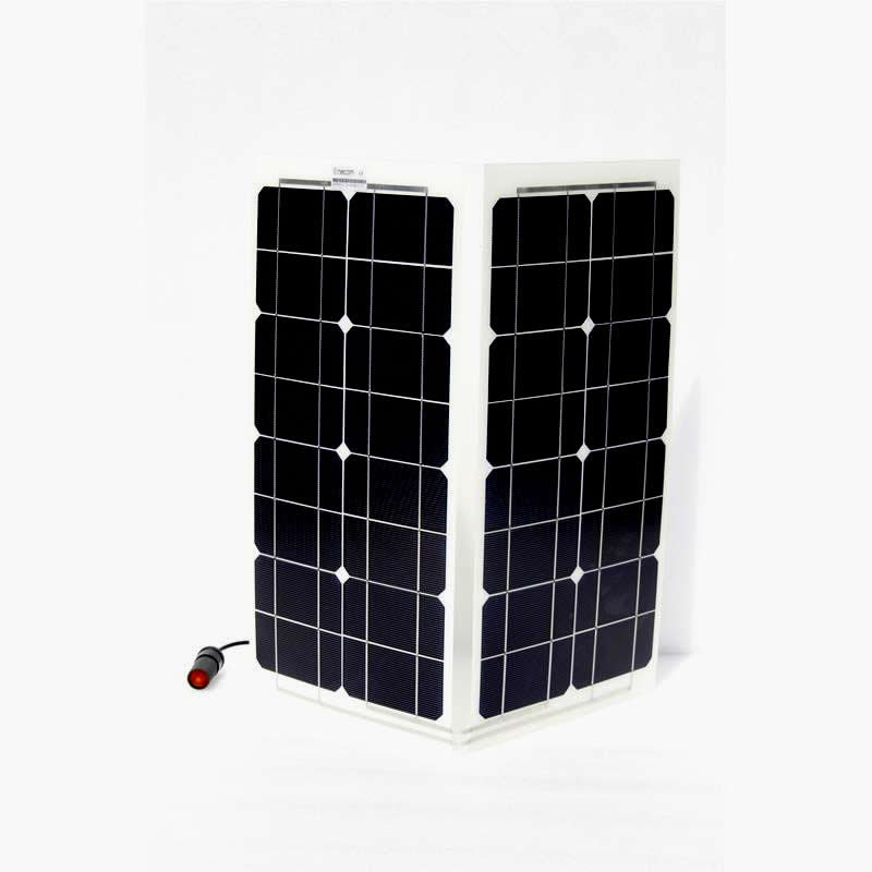 Flexible Crystalline silicon PV panels HFp40