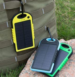Waterproof Solar Charger 5000mah