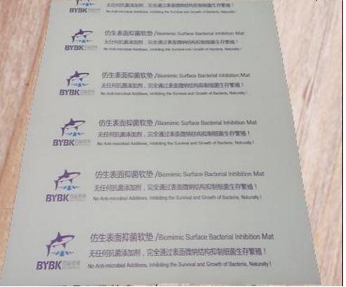 Bionic surface antibacterial protective pad