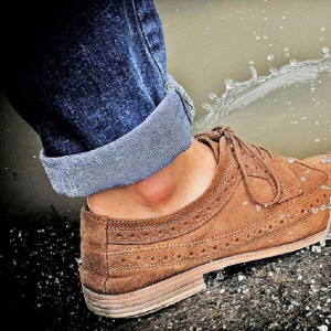 Hydrophobic Shoes