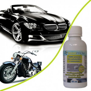 NANO paint protection for cars and motorcycles 50 ml