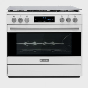 Oven with Oleophobic Cover