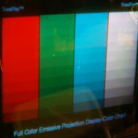 Emissive Projection Film