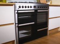Freestanding 100cm double oven range cooker