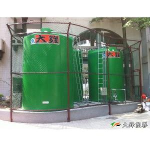 Nano silver antibacterial storage tank