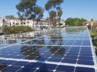tuvapor solar panel cleaning