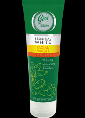 Gizi Essential White With Temulawak Facial Wash
