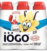 IÖGO 6*93 mL drinkable yogurt Vanilla
