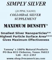 Tammy's Nano Collodial Silver