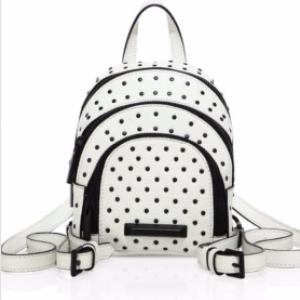 Sloane Nano Studded Leather Backpack