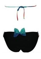 High Quality Wholesale Blue Green Rainbow Long Fringe nano bikini