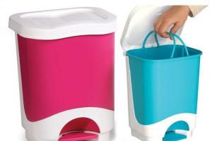 Antibacterial waste bin