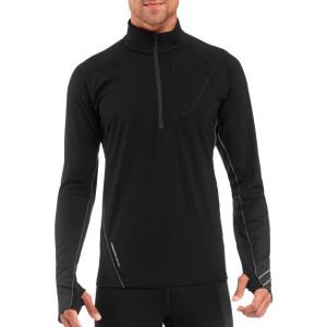 Icebreaker Drive Zip-Neck Shirt Long-Sleeve Men's