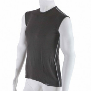 Men's antibacterial sleeveless black shirt An-Atomic