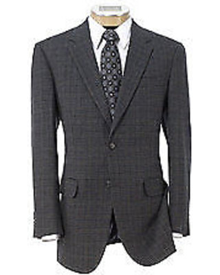 Traveler Collection Regal Fit 2 Button Wool Sportcoat