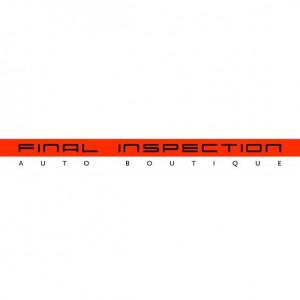 Final Inspection Auto Boutique