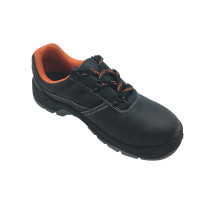 NMSHIELD low cut cow leather S3 steel toe cap and midsole secure toe safety shoe