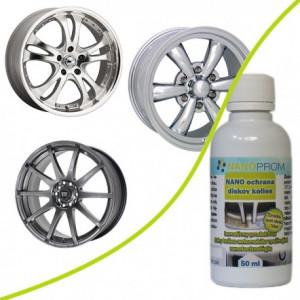 NANO wheel rims protection for 1 car 50ml