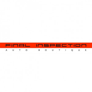 Final Inspection Auto Boutique