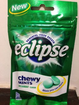 Eclipse Spearmint Chewy Mints
