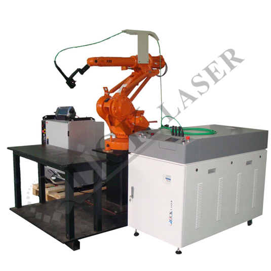 Robot Fiber Transmission Laser Welding Machine