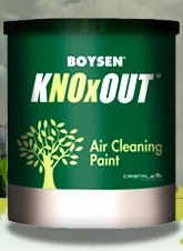 BOYSEN® KNOxOUT™ Air Cleaning Paint