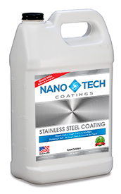 NanoTech Stainless Steel Coating