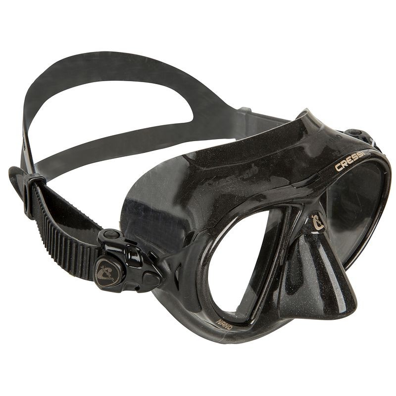 DIVING MASK APNOE NANO BLACK BLACK CRESSI