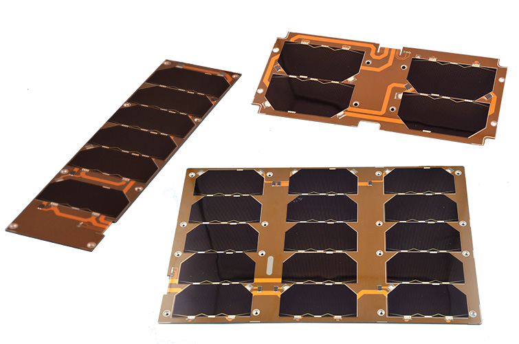 Single cubesat solar panels 3 unit