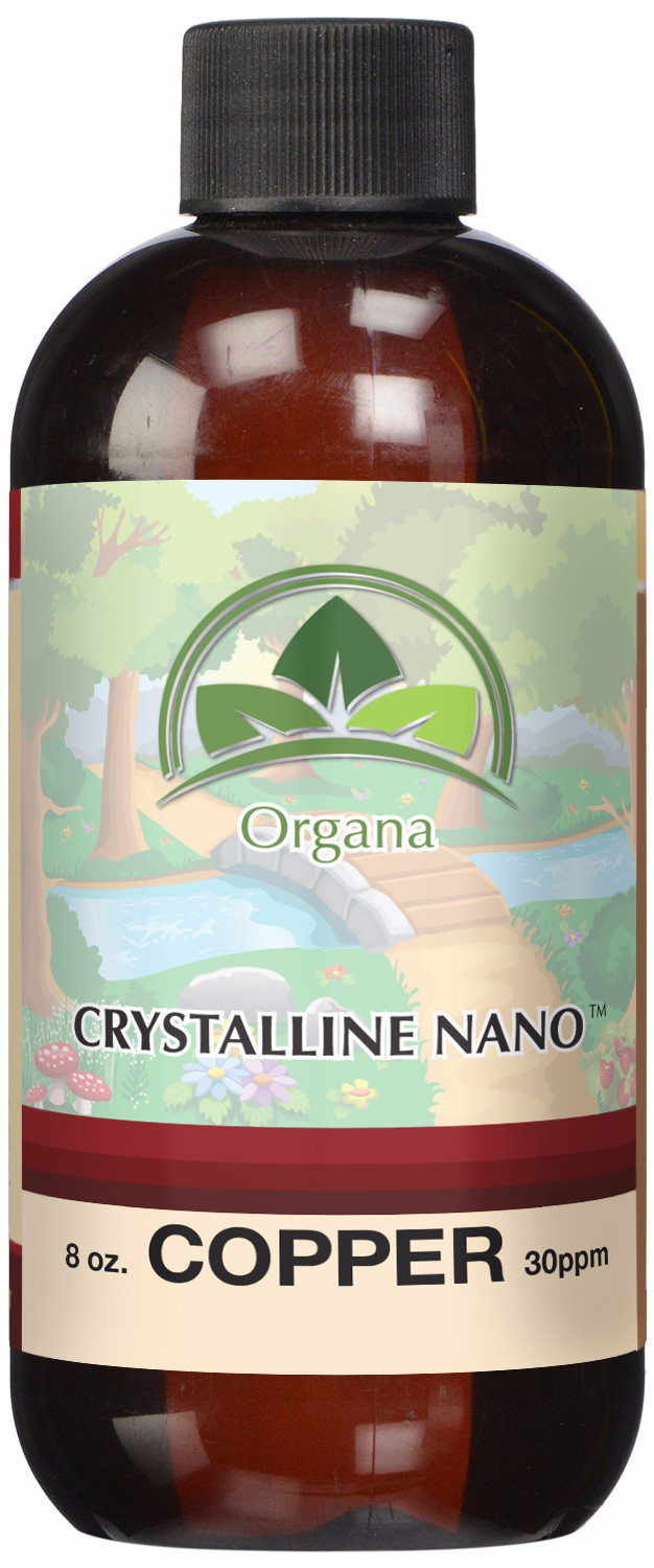 Organa Crystalline Nano Colloidal Copper 30 PPM