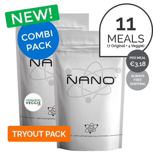 NANO COMBI: 7XORIGINAL 4XVEGGI HOT MEALS