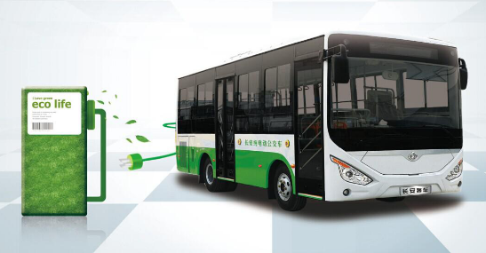 Power battery system for electric bus