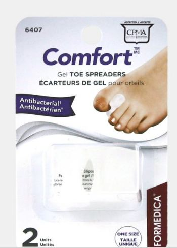 Gel Toe Spreaders – Antibacterial