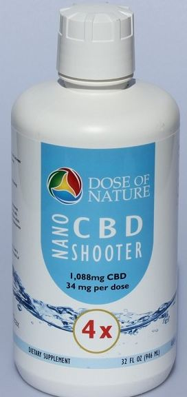 CONCENTRATED NANO CBD SHOOTER 4X