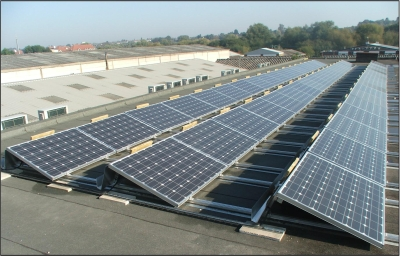 BalcoNano® Self-cleaning coating on PV panels