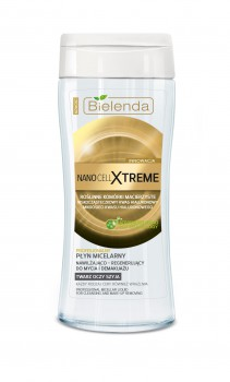 NANO CELL XTREME Professional moisturizing-regenerating micellar liquid for cleansing and make-up removal