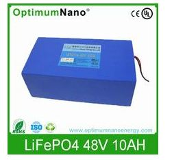 48V10Ah Tricycle LiFePo4 Battery