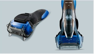 Inteligent 3-blade shaver with a cool design