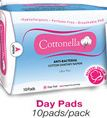 ANTI-BACTERIAL COTTON SANITARY NAPKIN dry pads