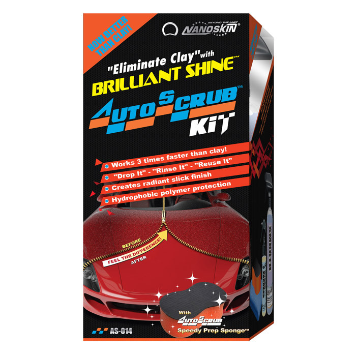 NANOSKIN  Eliminate Clay with AUTOSCRUB Brilliant Shine Kit