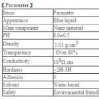 Transparent anti-static coating with high hardness