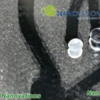 Nanotechnology glass coating for heavy duty glass protection and reduction of dust accumulation