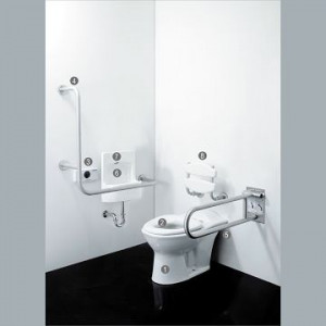 Accessible space special toilet