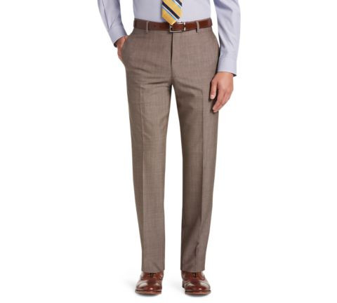 Traveler Collection Slim Fit Flat Front Dress Pants #20VX