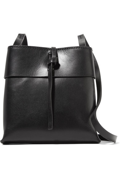 Kara Black Nano Tie Crossbody